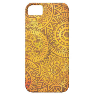 Faux Golden Suns pattern iPhone 5 Cases