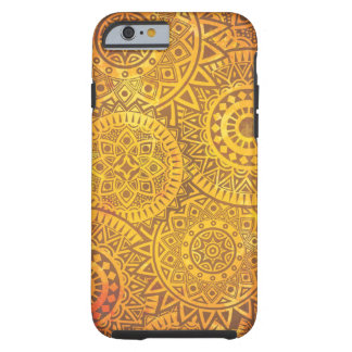 Faux Golden Suns pattern Tough iPhone 6 Case