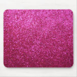 Faux Hot Pink Glitter