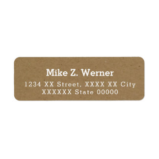 faux kraft-paper-color brown