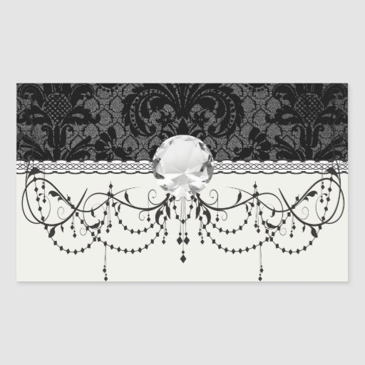 faux lace black grey damask pattern
