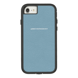 Faux Leather Look Light Denim Blue Case-Mate Tough Extreme iPhone 8/7 Case