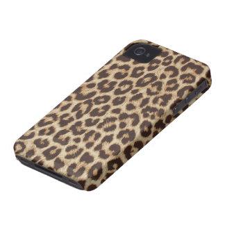 Faux Leopard Fur iPhone 4 Case-Mate Case