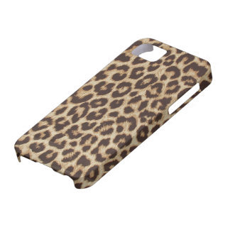 Faux Leopard Fur Case For The iPhone 5