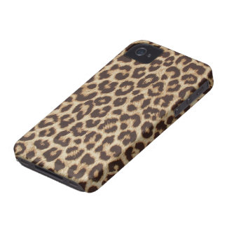 Faux Leopard Fur iPhone 4 Cover