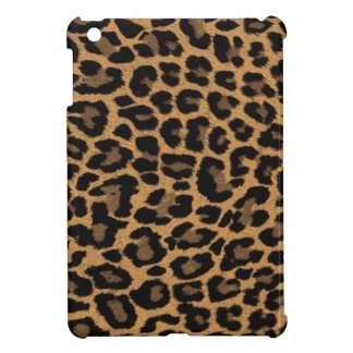 faux leopard print iPad mini cover