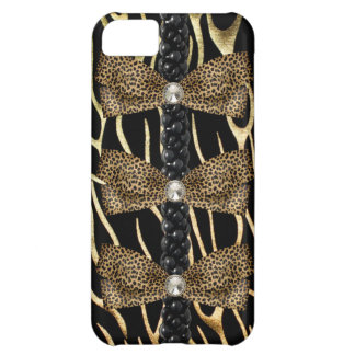 Faux leopard skin Barely There IPhone 5 Case