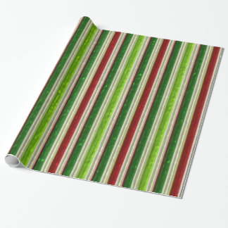 Faux Metallic Pattern glossy wrapping paper