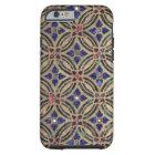 Faux mosaic tile pattern stone glass photo Morocco Tough iPhone 6 Case