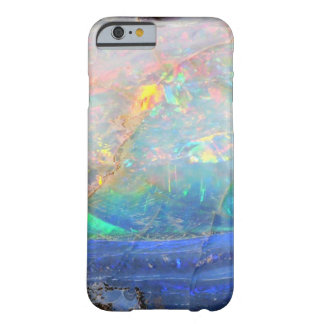 Faux opal gem gemstone mineral bling bokeh hipster barely there iPhone 6 case