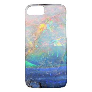 Faux opal gem gemstone mineral bling bokeh hipster iPhone 7 case