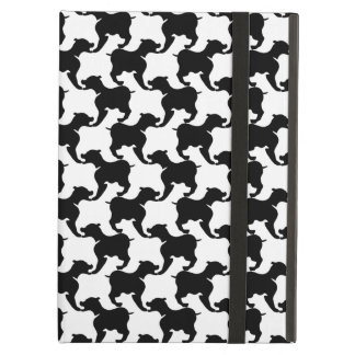Faux pied-de-poule with Dogs Ipad Air Case 2