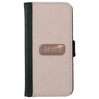 Faux Pink Leather iPhone 6/6s Wallet iPhone 6 Wallet Case