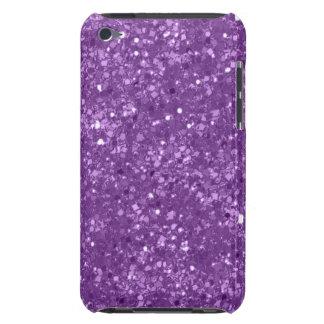Faux Purple Glitter iPod Touch Case-Mate Case