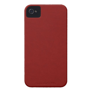 Faux Red Leather iPhone 4 Cases