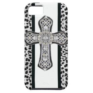 Faux Rhinestone Cross Iphone 5 Case