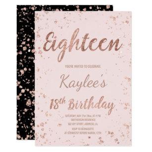 18th Birthday Invitations Announcements Zazzle UK