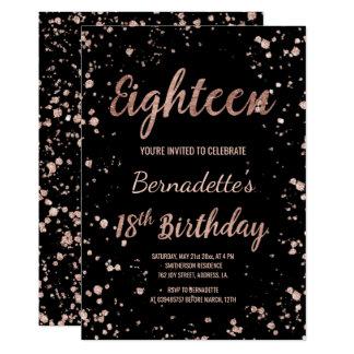 18th Birthday Invitations & Announcements | Zazzle.co.uk