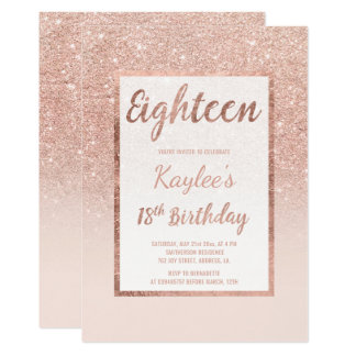 18Th Birthday Invitation orderecigsjuiceinfo
