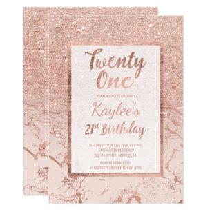 21st Birthday Invitations Announcements Zazzle Uk