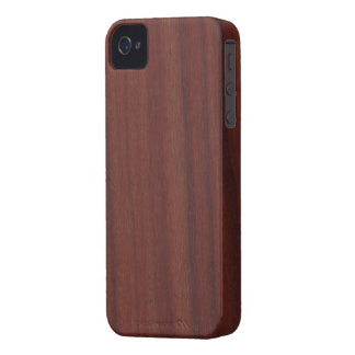 Faux Rosewood Case-Mate iPhone 4 Case
