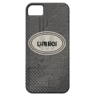 Faux Rough Industrial Grunge Mens Masculine Indy Case For The iPhone 5