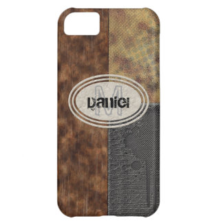 Faux Rough Industrial Grunge Mens Masculine Indy iPhone 5C Case