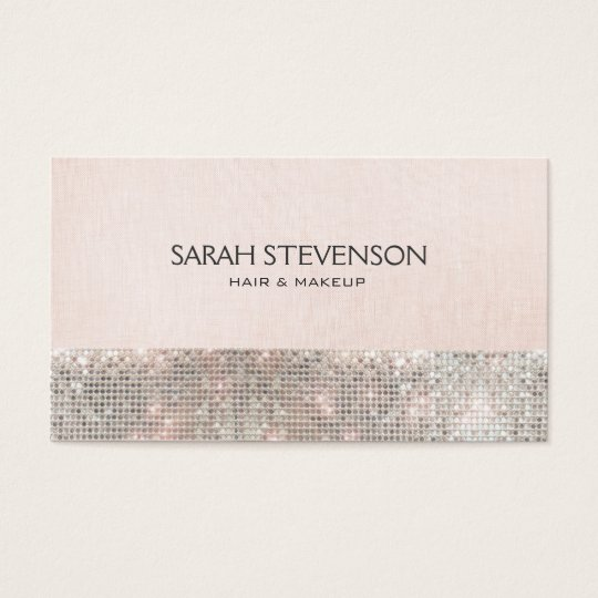 Faux Sequins and Linen Cute Pink Fashion &