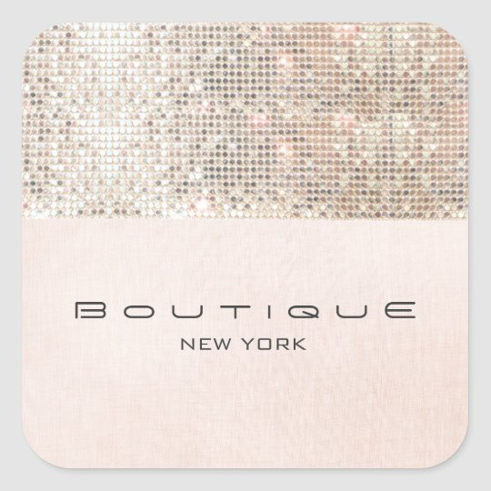 FAUX Sequins Pink Linen Look Fun and Girly