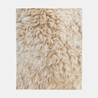 Faux Sheep Skin Blanket