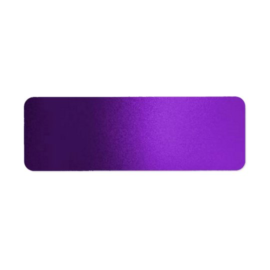 Faux Silk Purple Solid Lable