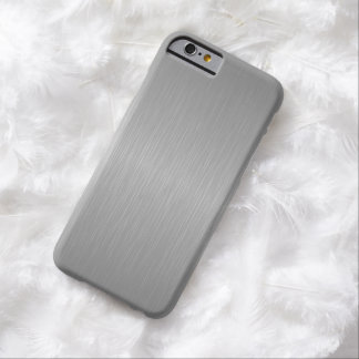 Faux Silver Barely There iPhone 6 Case