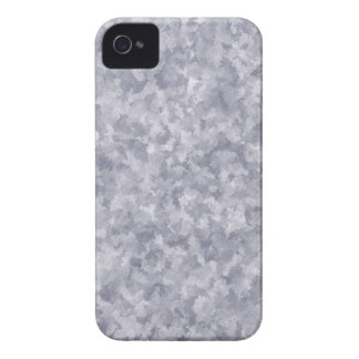 Faux Silver Galvanized Steel Metal iPhone 4 Case