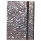 Faux Silver glitter graphic iPad Air Case