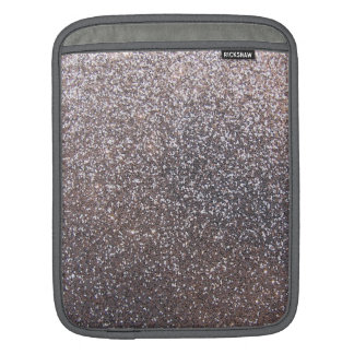Faux Silver glitter graphic Sleeve For iPads