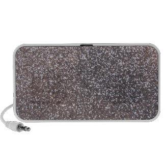 Faux Silver glitter graphic Mini Speaker