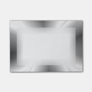 Faux Silver Metallic Post-it® Notes