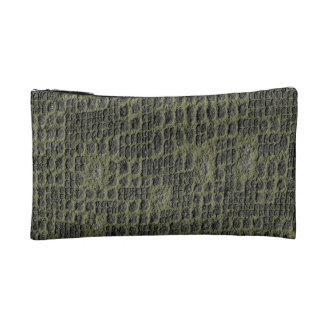 Faux Snake Skin Cosmetic Bags