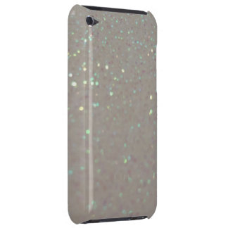 Faux Sparkles & Glitter - Girly cream ipod case