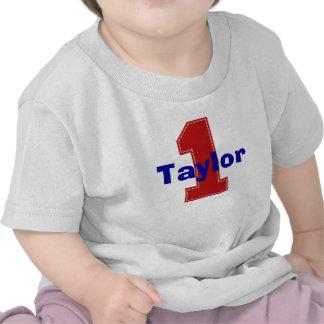 Faux Stitch First Birthday Shirt