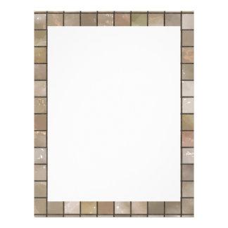 Faux Tan Floor Tile Image Flyer