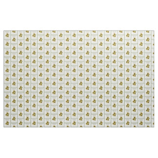 Faux Vintage Sunflower Seed Packet Pattern Fabric