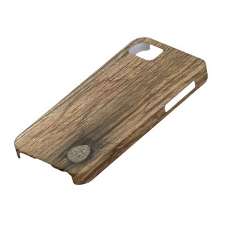 Faux Weathered Barn Wood iPhone 5 Case-Mate