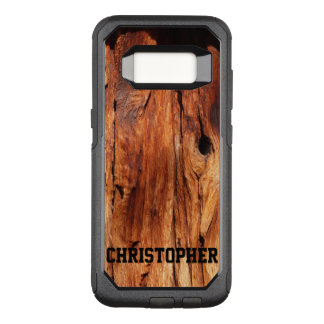 Faux Weathered Wood OtterBox Samsung Galaxy S8