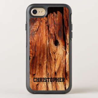 Faux Weathered Wood OtterBox Symmetry iPhone 7 OtterBox Symmetry iPhone 7 Case