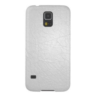 Faux White Leather Samsung Galaxy S5 Case