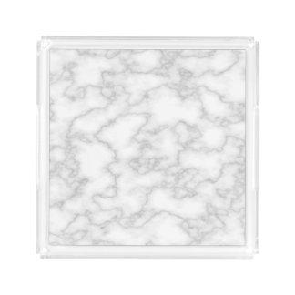 Faux White Marble