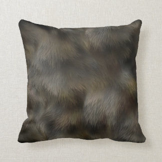 Faux Fur Cushions - Faux Fur Scatter Cushions Zazzle.co.uk