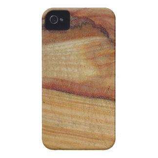 Faux wood Grain iPhone 4 Case-Mate Case