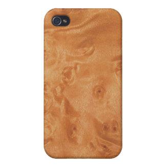 faux Wood Grain iPhone 4/4S Case